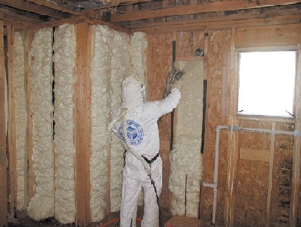 Spray foam insulation naturalgasefficiency note icynene is a brand name of a particular type of foam insulation there are other similar products marketed under different names solutioingenieria Image collections